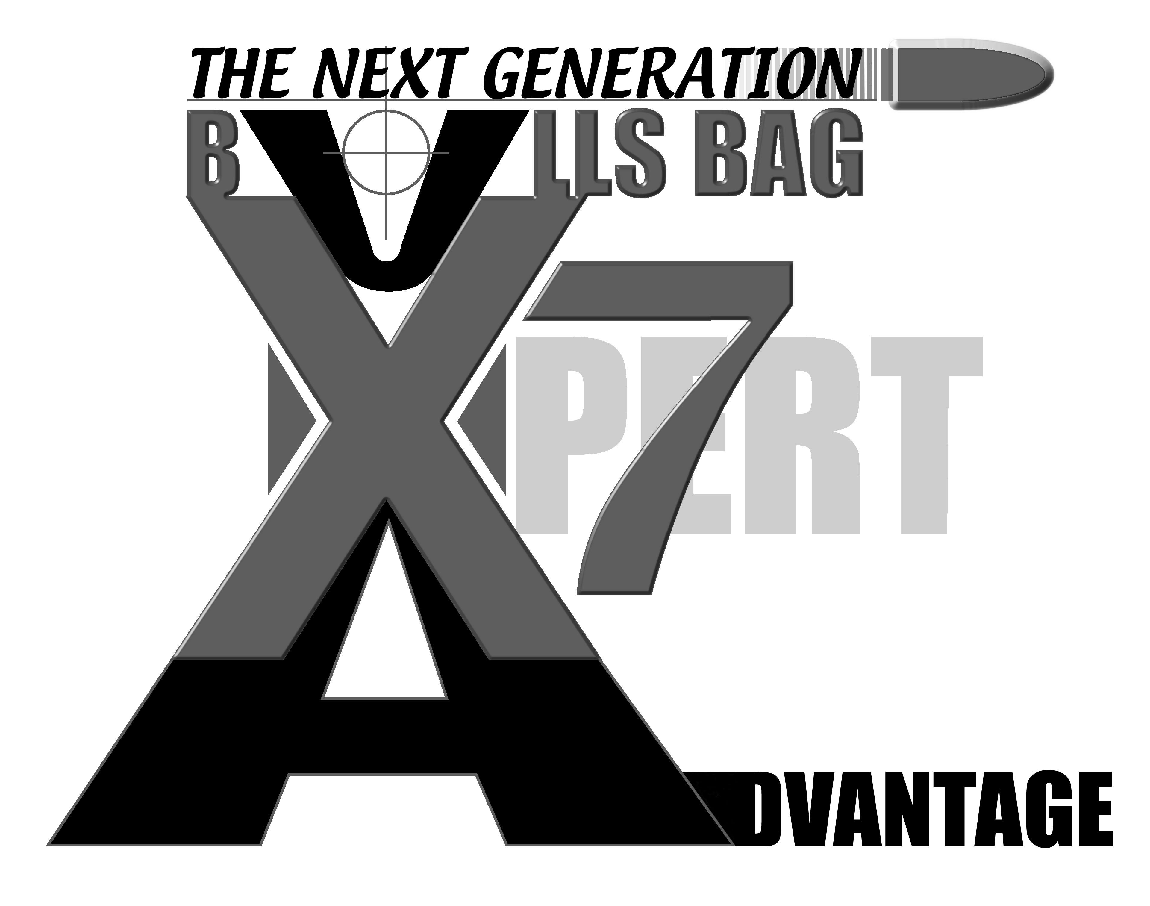 Logo Black Bullet x7 Brand Logo Black/white